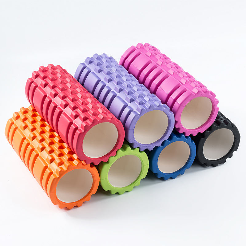 High-Density-Grid-Foam-font-b-Roller-b-font-Fitness-Pilates-EVA-Foam-Yoga-font-b